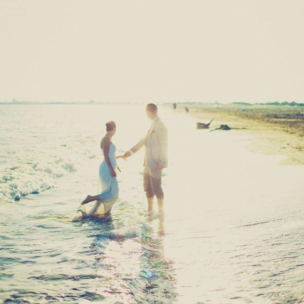 Love is a Polaroid beach